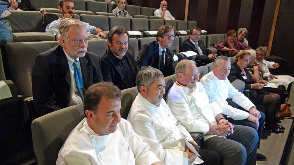 Martìn Berasategui - Kiyomi Mikuni - Pierre Wynants - Philippe Rochat et Jean-André Charial - Michel Troisgros - Olivier Roellinger