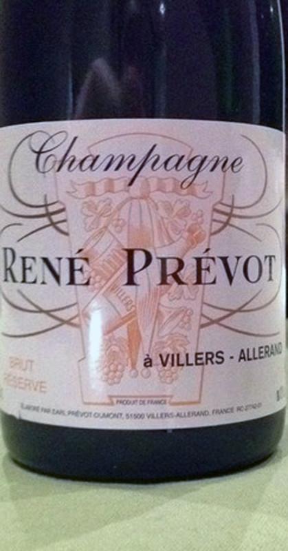 Champagne BSA de René Prévot