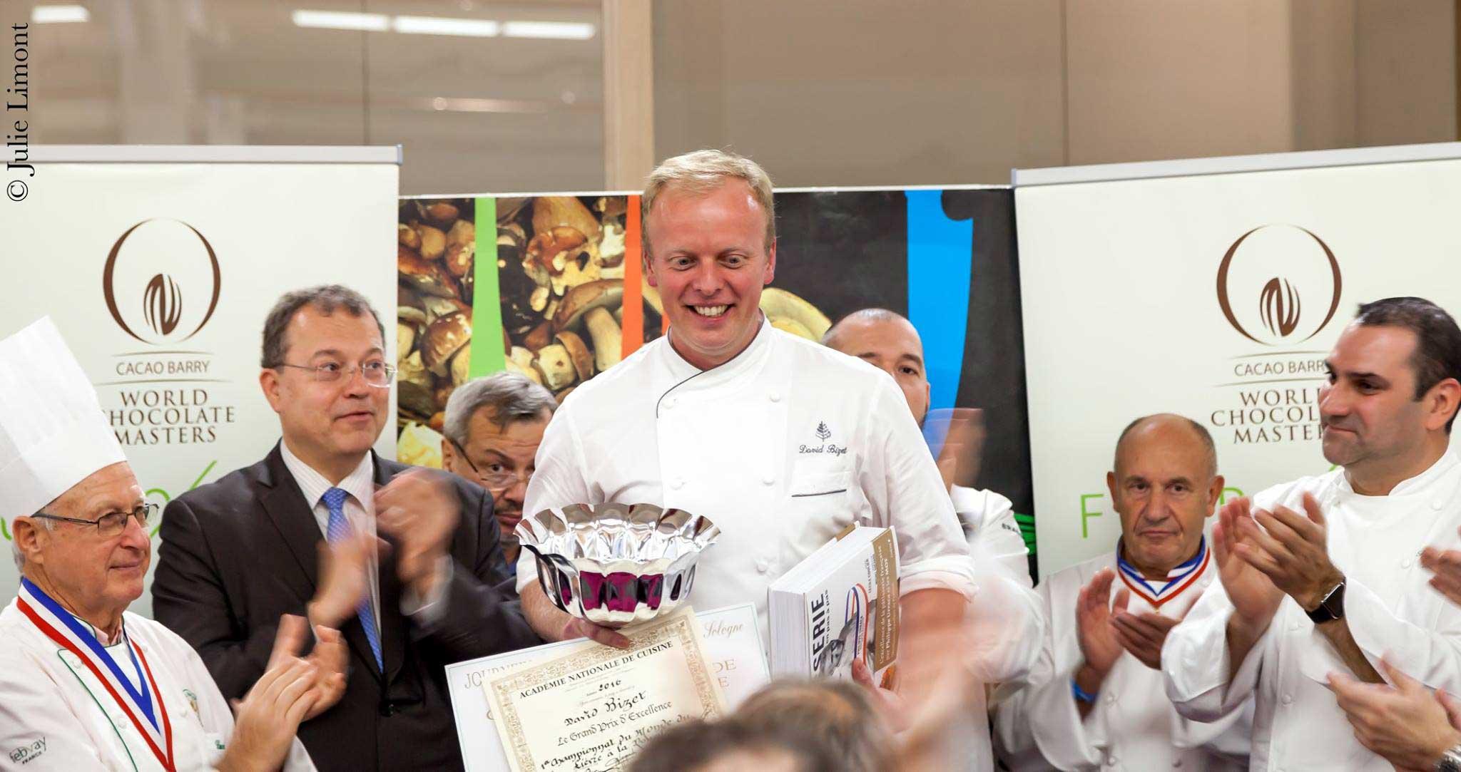 Le vainqueur de l'épreuve : David BIZET de Paris, Chef cuisinier à l'Orangerie du George V à Paris - Crédit photo : Julie Limont©