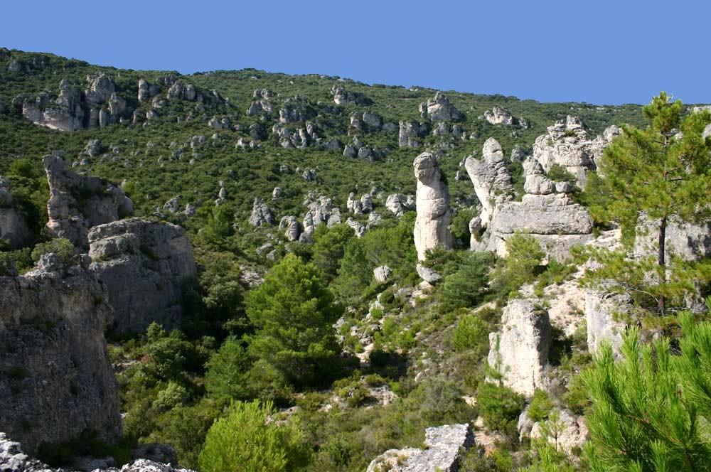 Chaos de rochers dolomites