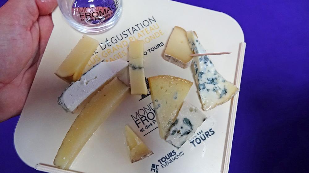 Ma sélection de fromages souffre de la chaleur