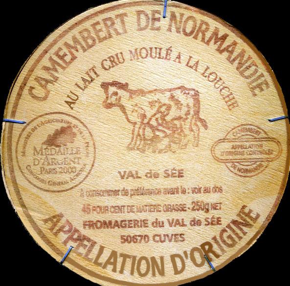Camembert de Normandie d'une bonne laiterie