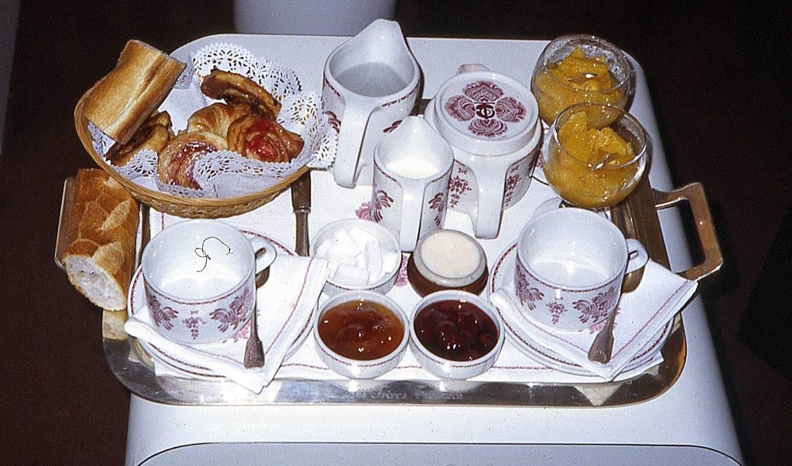 Petit déjeuner chez Troisgros - 8 avril 1983