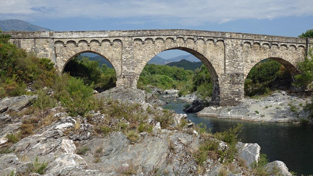 Pont génois près d'Altiani