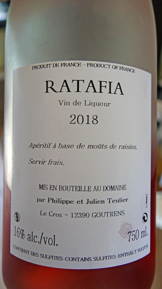 Ratafia rosé