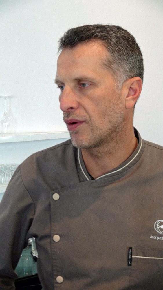 Le chef, Mathieu Aumont