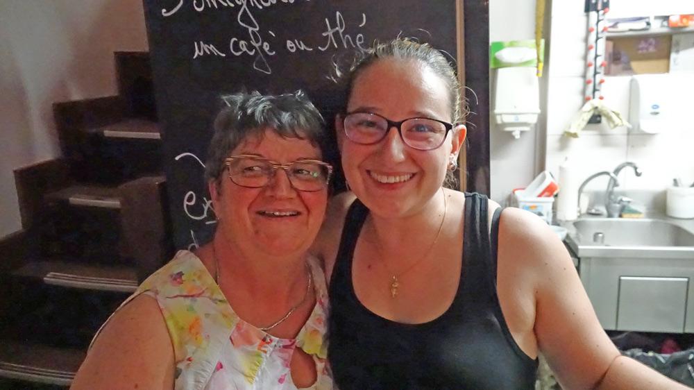 Evelyne et Nina Barbedor