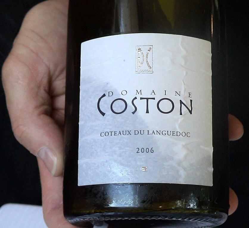 Coteaux du Languedoc 2006 Dne Coston (Roussanne & Grenache blanc)