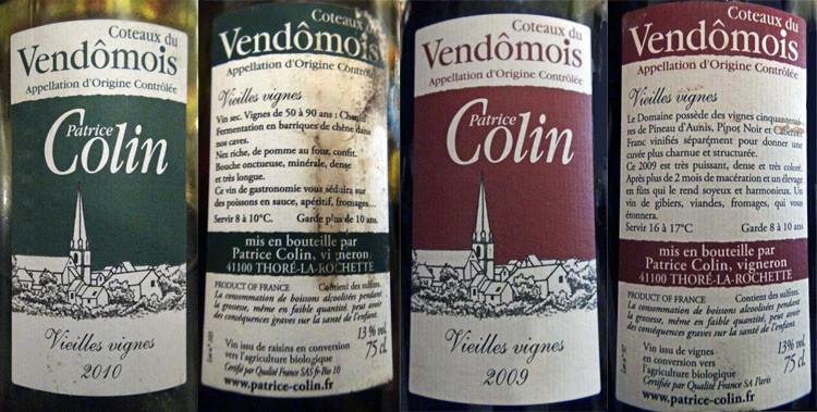 Les vins au verre pour les plats