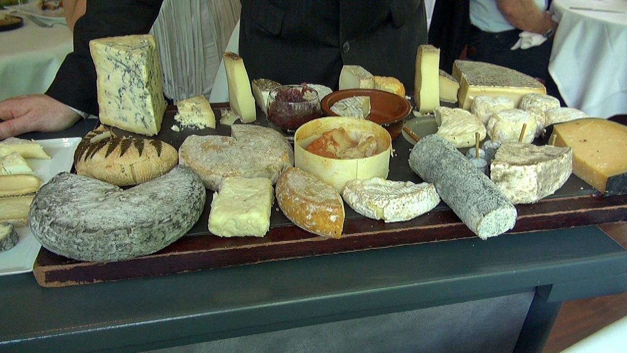 Plateau de fromages de Jean Yves Bordier