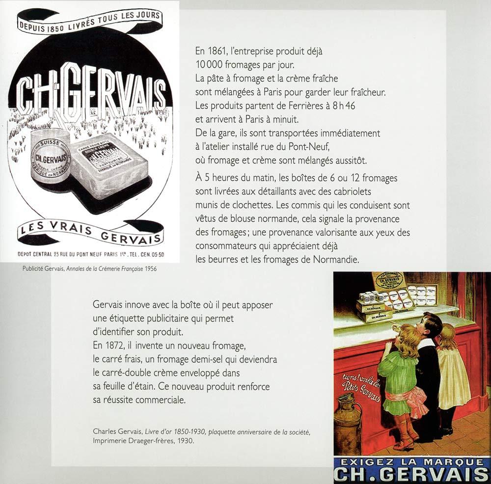 Une page intérieure consacrée à Charles Gervais