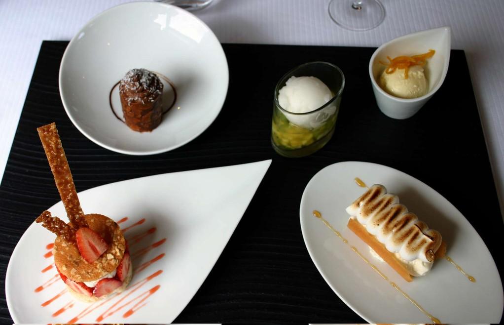 Dégustation de 5 desserts