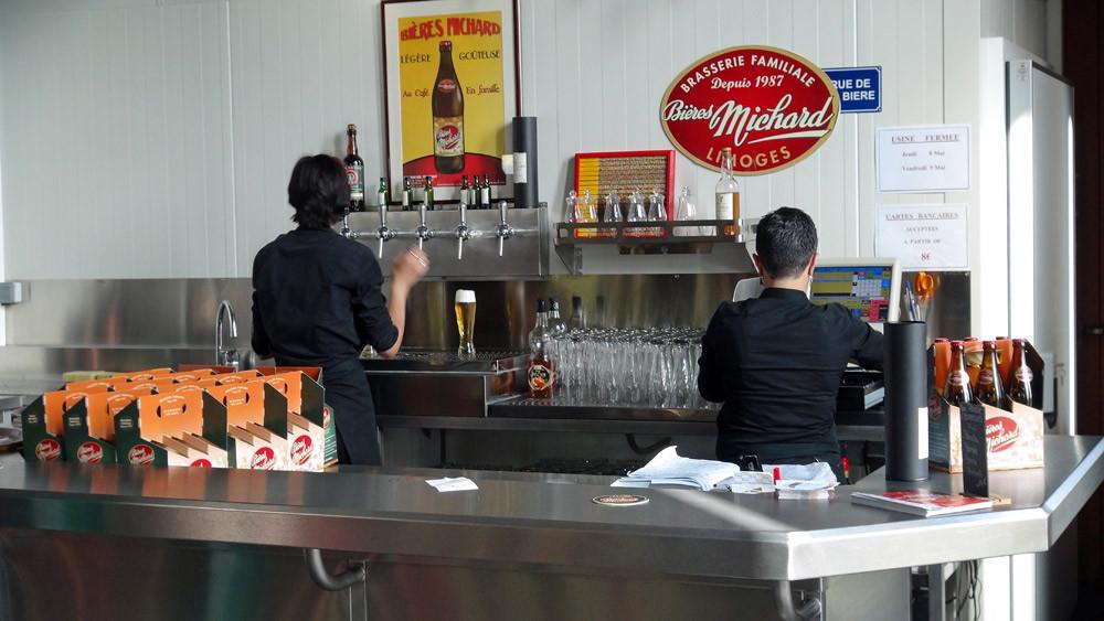 Bières à la tireuse