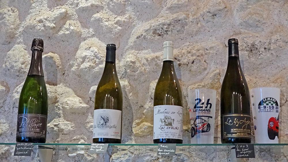"""Les vins épuisés : Pétillance - VDF La Tourangelle - Montlouis-sur-Loire """"Les Croisés"""" - Montlouis-sur-Loire 2003 """"Le 1/2 Arpent"""""""