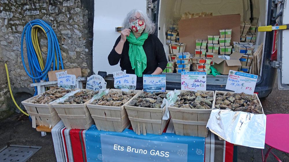 Les huîtres naturelles de Nathalie & Bruno Gass