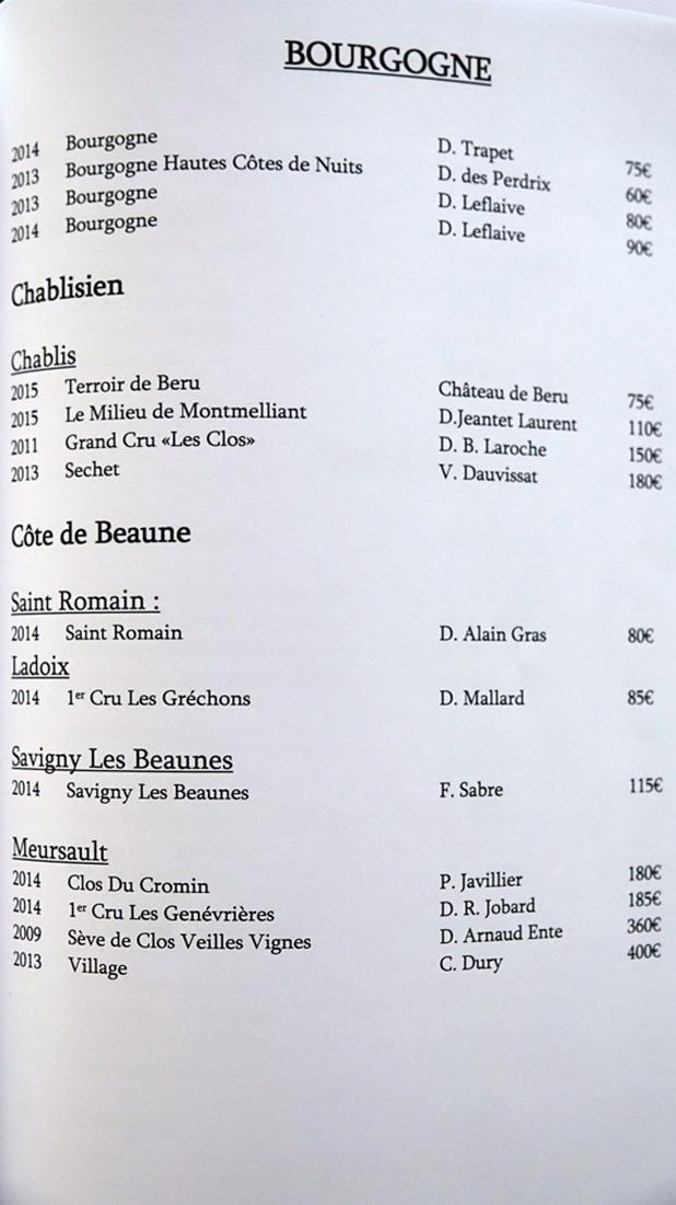 Bourgogne  (15 références)