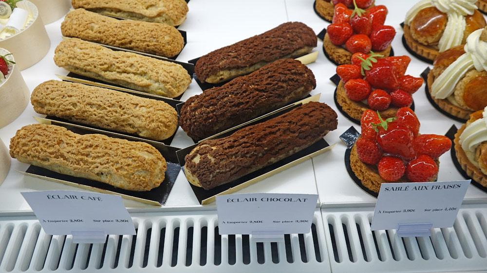 Les pâtisseries individuelles