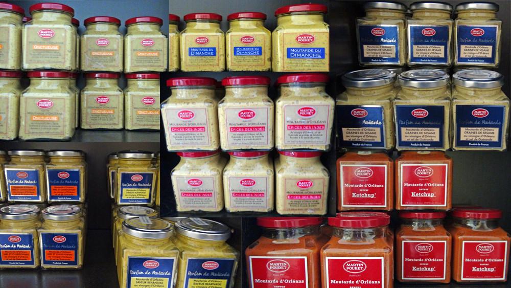 Les différentes Moutardes