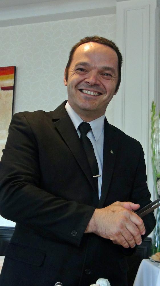 Hervé Louveau, responsable ès fromages des Hautes Roches