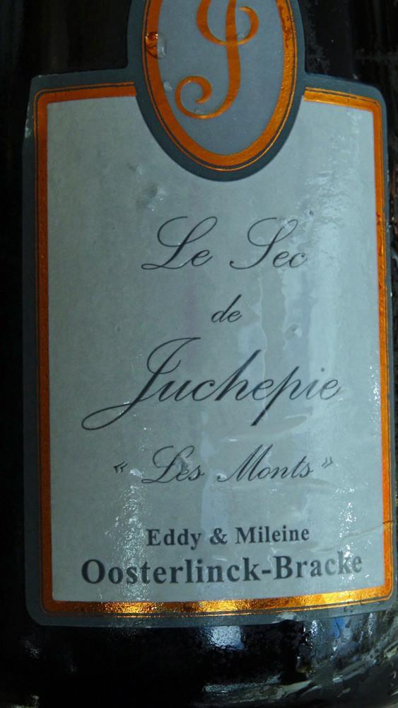 Le vin servi sur les St Jacques et langoustines