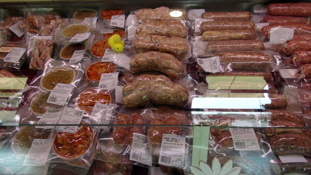 Sabodet pré-cuit - Saucisson lyonnais pistache et morilles à cuire - Tripes de veau ...