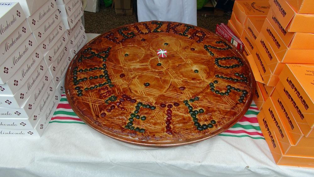 """Un """"gros"""" gâteau basque"""