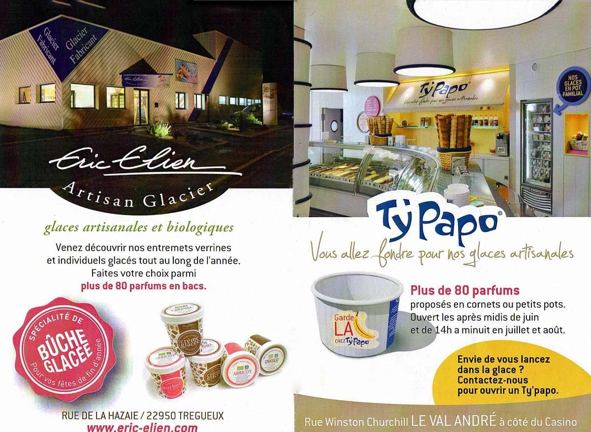 """La boutique """"saisonnière"""" des glaces """"Eric Elien"""""""