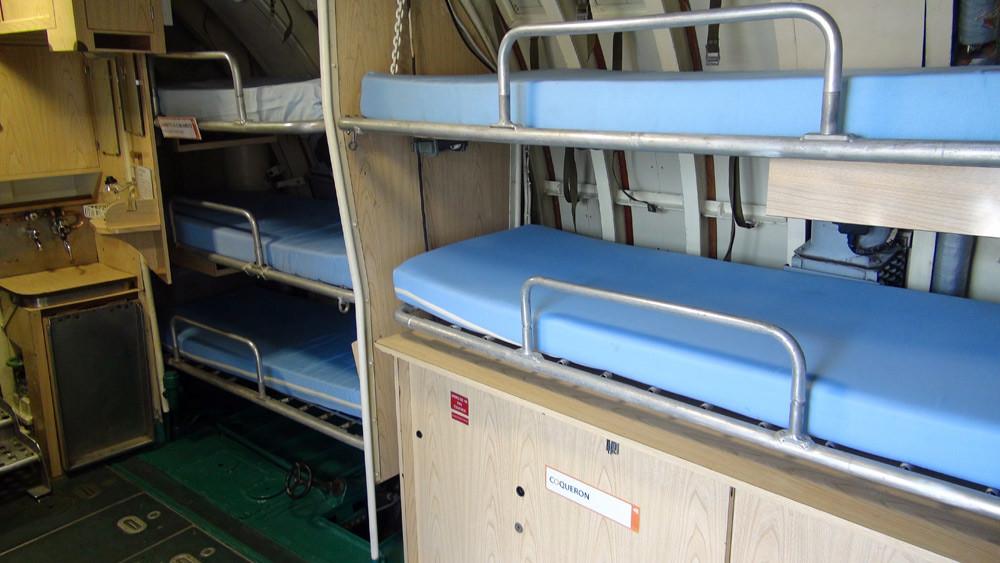 Des couchettes