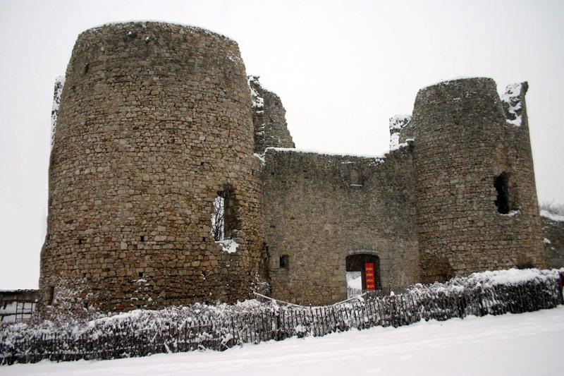 Le château sous la neige - 2006