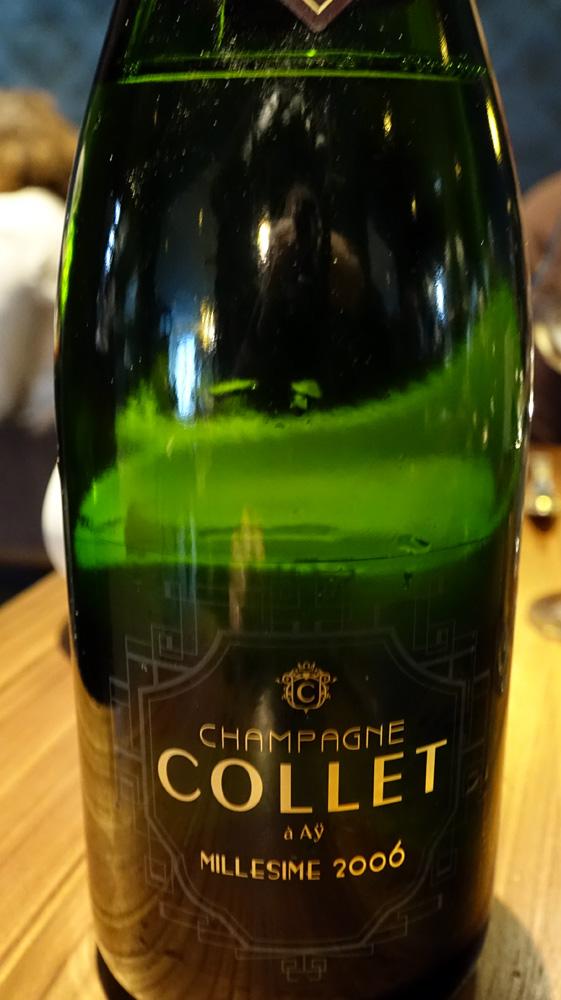 Champagne sur le 2 ème acte