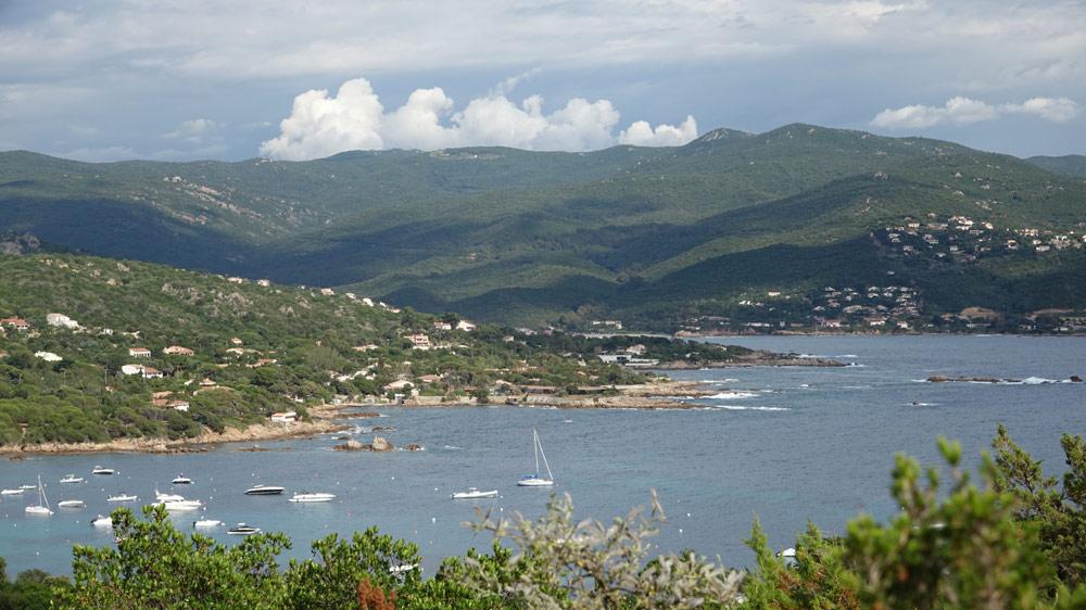 Vue sur Verghia depuis Isolella
