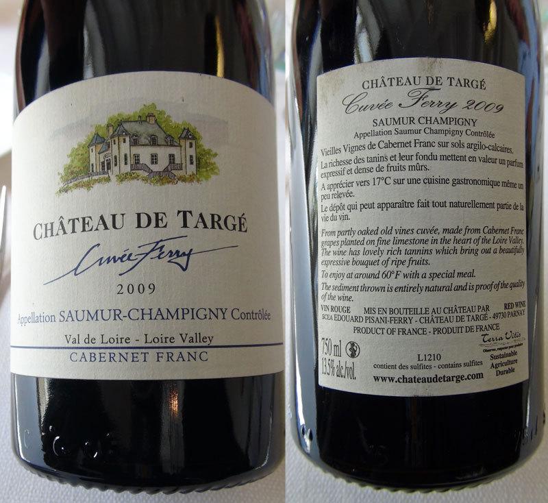 Saumur-Champigny 2009 Château de Targé