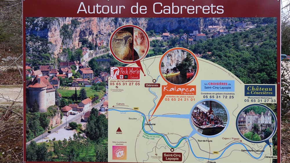 Autres sites à visiter autour de Cabrerets
