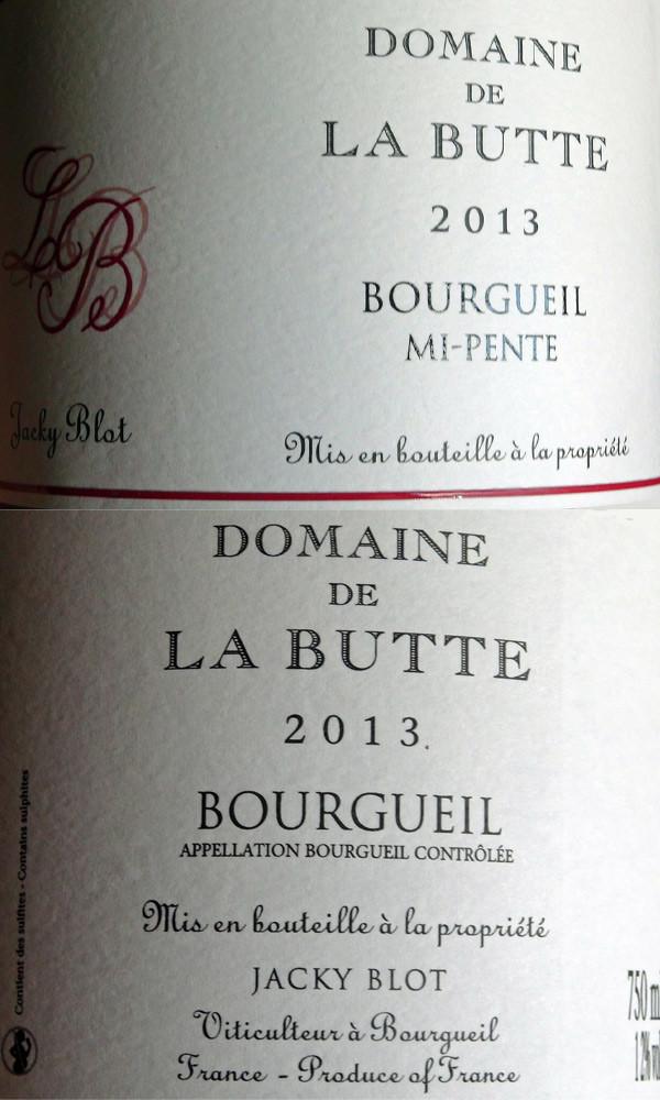 Bourgueil mi-pente 2013