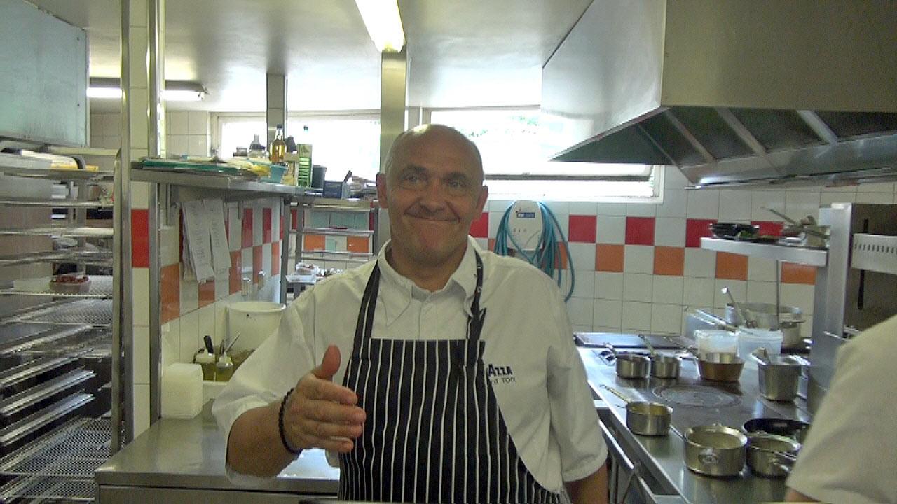 Richard Toix m'accueille en cuisine