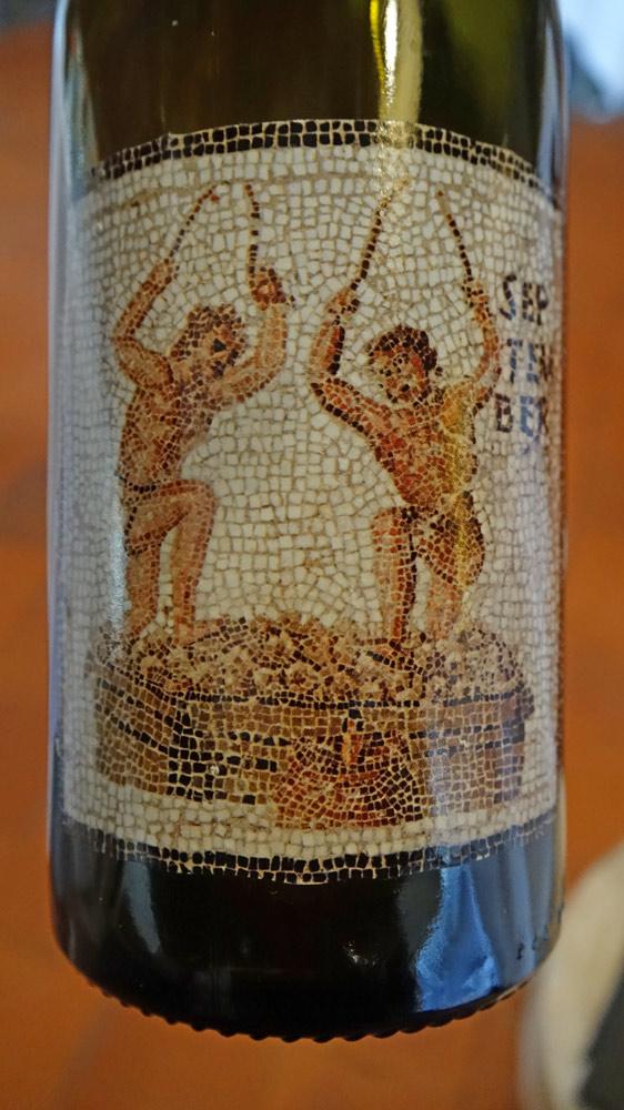 Le vin servi sur les deux plats suivants