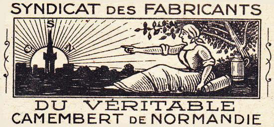 Le Syndicat du Véritable Camembert de Normandie. © www.camembert-museum.com
