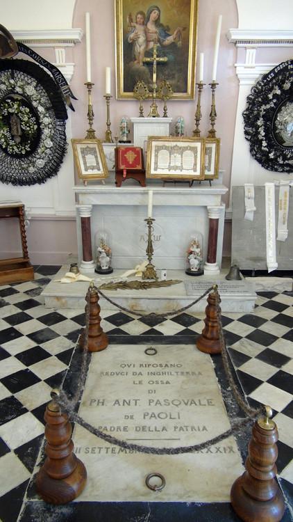 Le musée de Pascal Paoli à Morosaglia