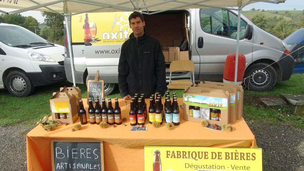 Bières à la châtaigne du Tarn