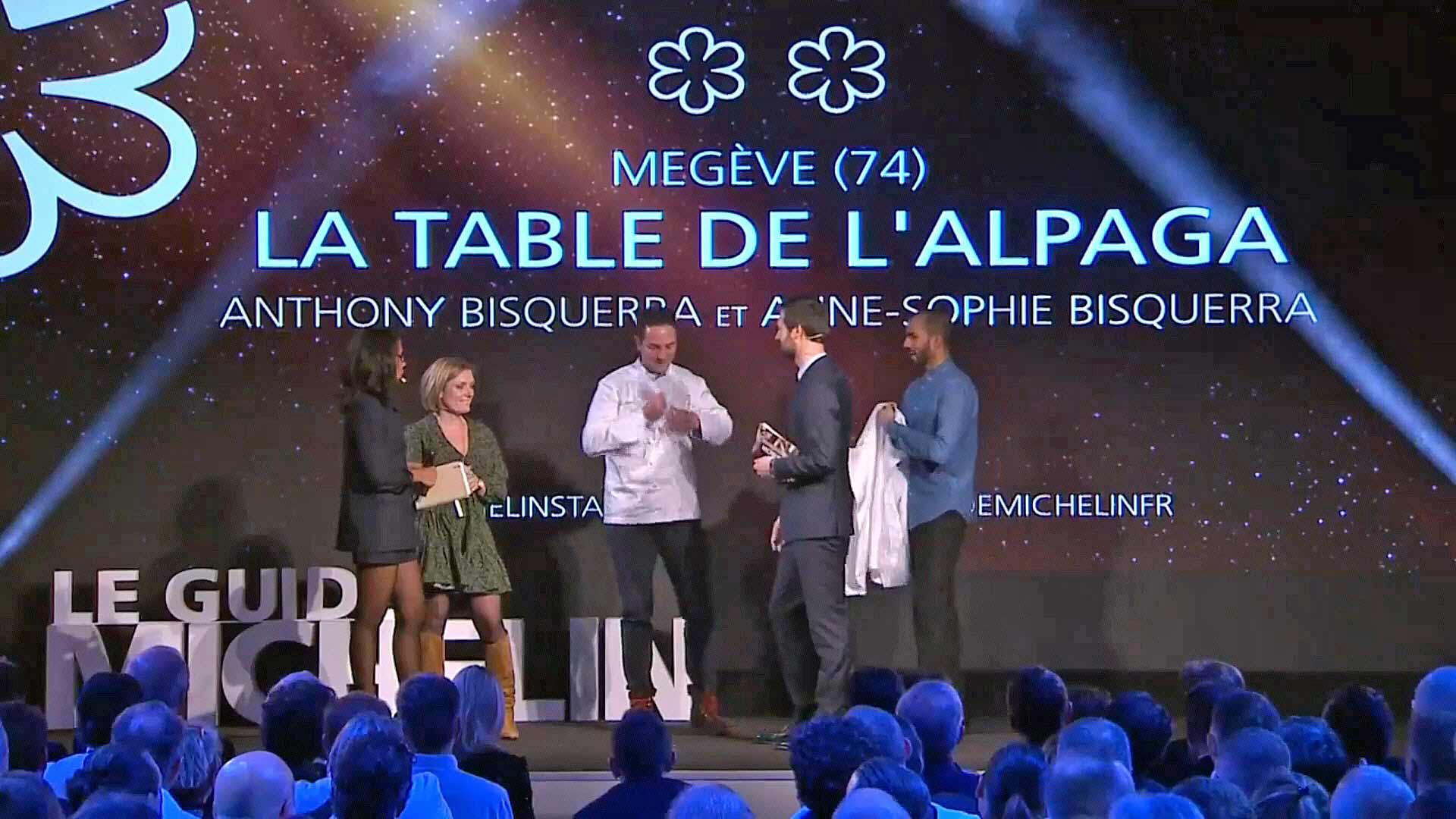 La Table de l'Alpaga, nouveau 2 étoiles