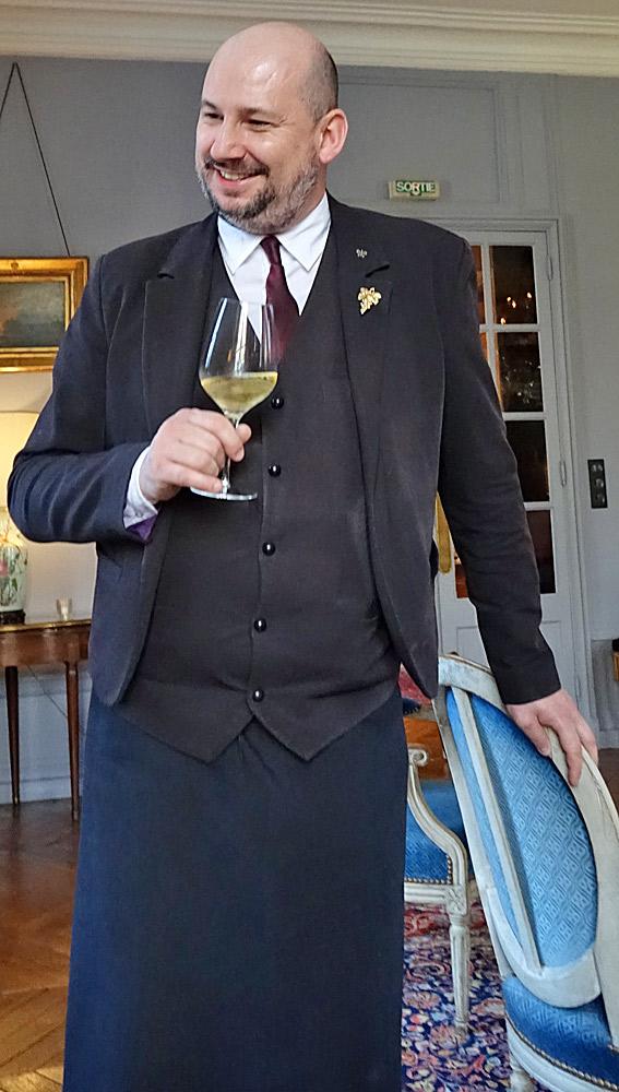 Franck Bernard, sommelier