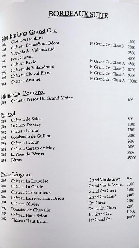 Bordeaux suite (25 références)
