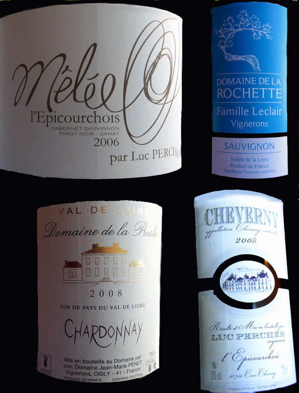 Les vins servis au verre