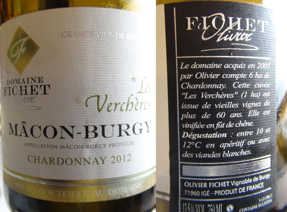 Mâcon-Burgy 2012