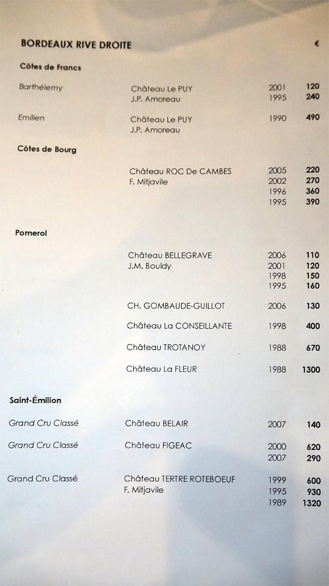 Bordeaux rive droite
