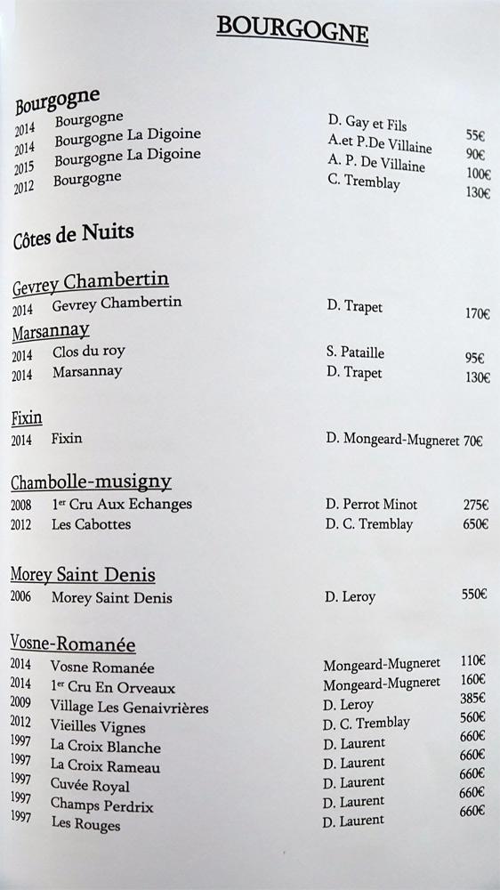 Bourgogne (20 références)