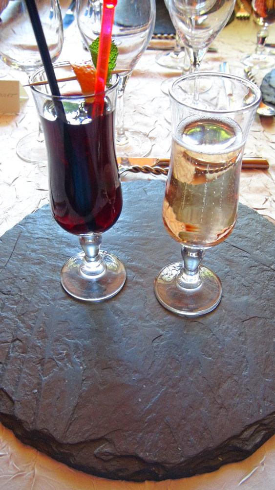 Vin de Myrtilles et Coktail Chéri