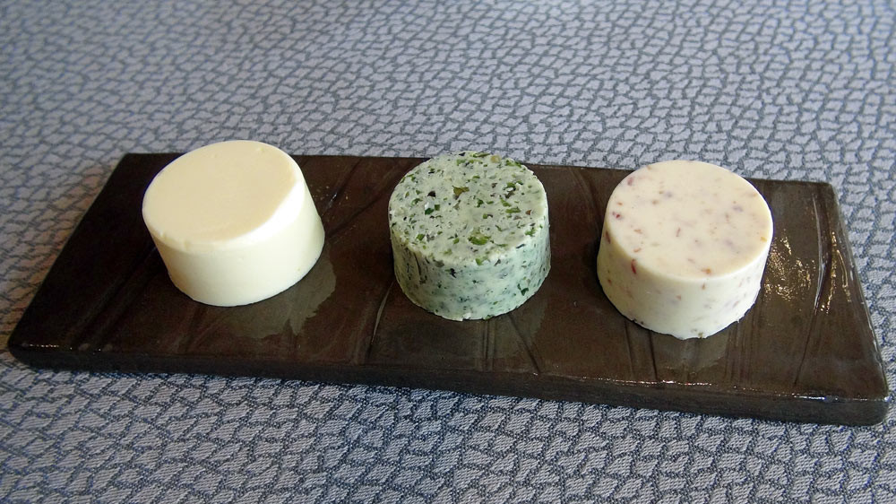 Beurres : Jésus de Morteau & origan - Algues & échalotes - Nature