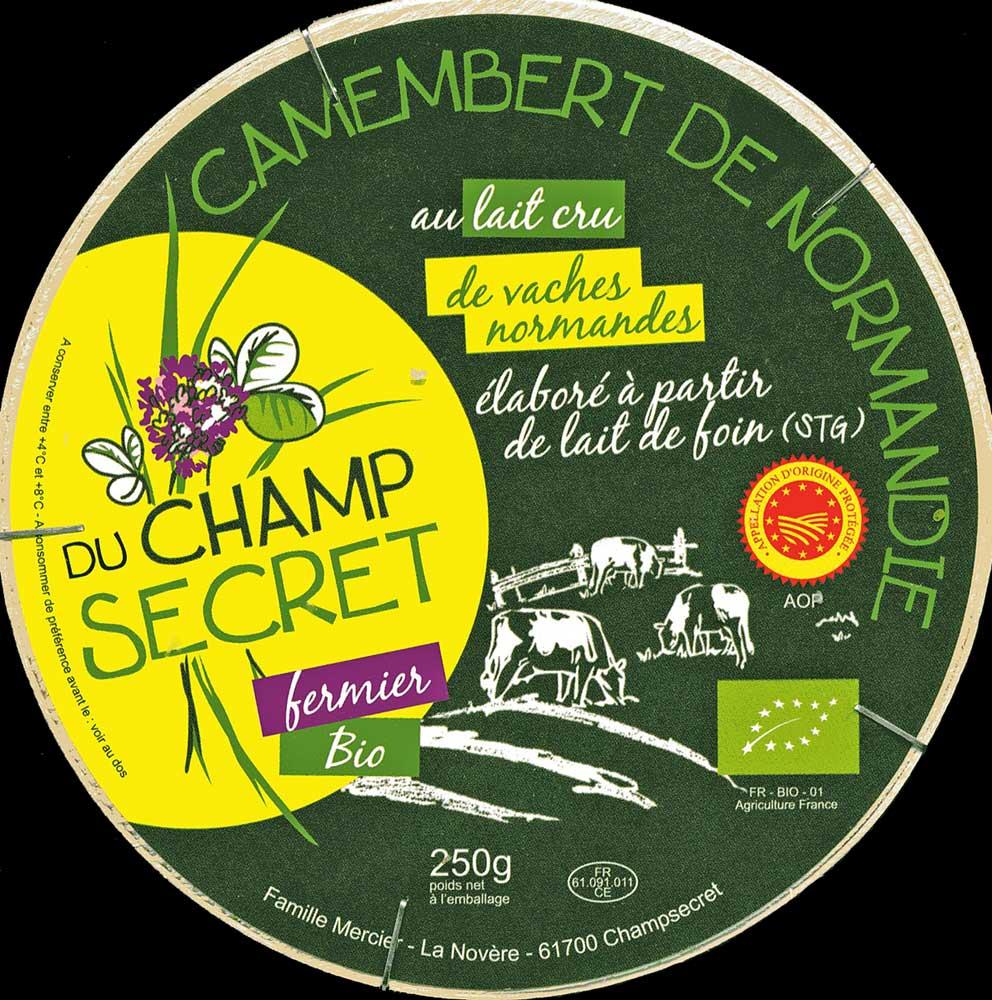 Un excellent Camembert de Normandie fermier, bio et au lait de foin !