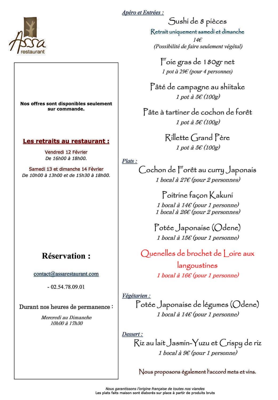 """Les plats du week-end dont les fameuses """"quenelles"""""""